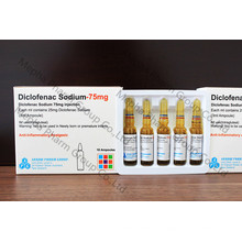 Injection de sodium Diclofenac