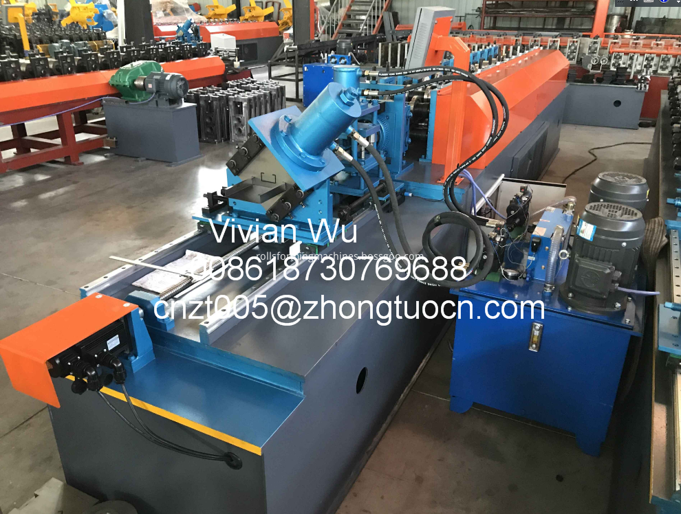 light steel gauge roll forming machine 2