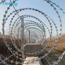 Security Fencing Stainless Steel Razor Barbed Wire