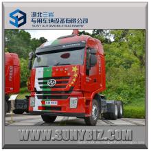 430HP Hongyan Gelyon 6X4 Camión Tractor