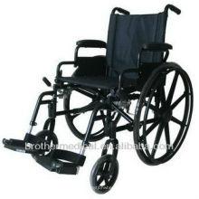 Fácil dobrar cadeira de rodas compatível BME4613 para deficientes