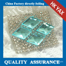D1008 China supplier Fashion Crystal Rhinestone Patches for Wedding Dresses