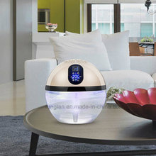 Water Ionic Rainbow LED Light Desktop Air Purifier