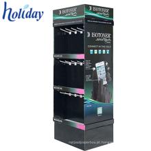 Suporte do quiosque para acessórios móveis, suporte de exposição do quiosque, quiosque de carregamento do telemóvel