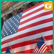 Bandeiras nacionais da tela / bandeiras dos EUA / bandeira americana
