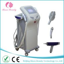 3 в 1 Вертикальное многофункциональное оборудование для красоты Elight + RF + ND YAG Laser с 3 хандами