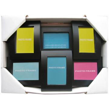 6 ouvertures petite taille Collage Photo Frame pour cadeau