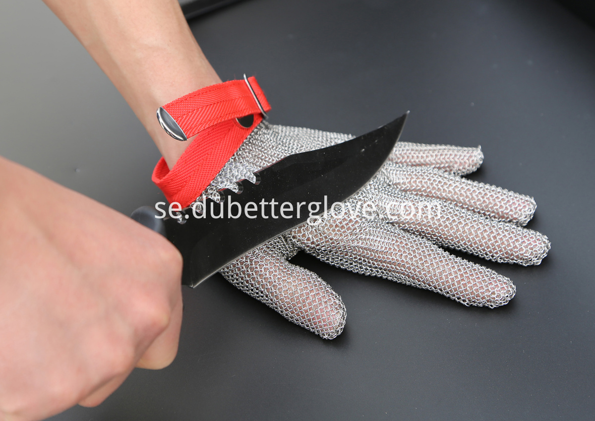 Zhonghe steel mesh butcher gloves