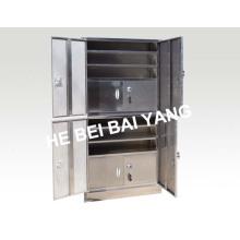(C-10) de alta calidad de múltiples funciones de acero inoxidable veneno gabinete