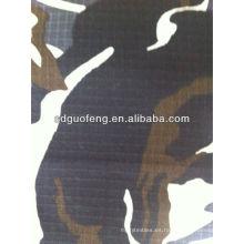 tela profesional de camuflaje, poliéster, poliéster / algodón para uniforme militar, bolso
