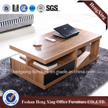 Cherry Color Melamine 1.2m Coffee Table (HX-6M393)