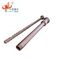 Zhoushan bimetallic 65mm screw barrel for plastic machine