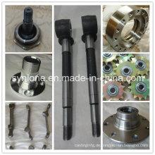 Soem kundengebundener Stahl, der Produkte für mechanisches schmiedet
