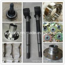 Produits de forgeage en acier adaptés aux besoins du client d'OEM pour mécanique