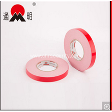 Double Sided Adhesive Permanent Red Film Foam Tape
