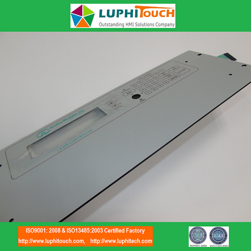 Laser Machine ESD Shielding Aluminium Backer Membrane Keypad