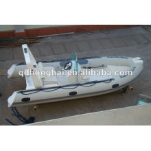 CE RIB480 rigid inflatable fiberglass boat