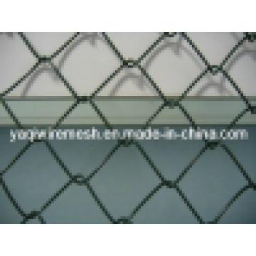 75 * 75mm PVC Revestido Chain Link Fence Galvanizado / PVC Coated Melhor Preço Alta Qualidade