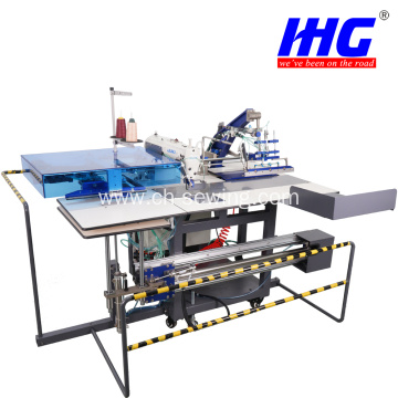 IH19A-DT800MS Facing Machine Full Automatic Pocket