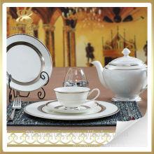 Оптовая костяного фарфора пакистанских набор посуды, плита печатания