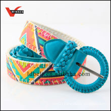 2014 Fashion Girls Skinny Jean Braided Belt
