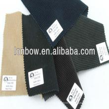 100% algodón Tejido de pana fino de calidad