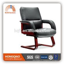 CV-F63BS chaise en cuir chaise en bois chaise de conférence