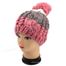 Hand Knit Men & Women Winter Hat Beanie Cap