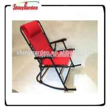 rocking beach chair, rocking chair iron, metal frame rocking chair