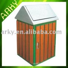 Good quality Outdoor Wooden Trash Bin