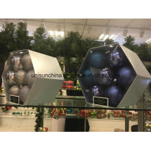 Christmas Ornament Balls in Different Size and Color with Customized Packing