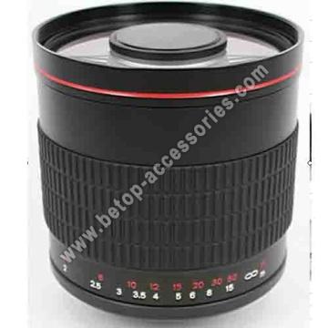 500mm f. 6.3 lente espelho