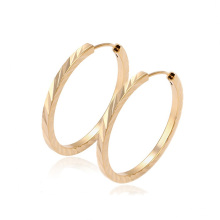 29361-Xuping venta caliente moda 18K chapado en oro pendiente del aro para las mujeres