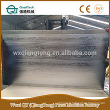 Plaque de pressage en acier inoxydable 4'x8 '/ plaque en acier à pression chaude en bois