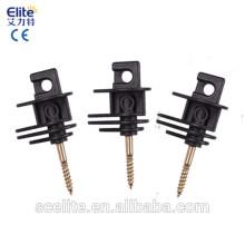 Électrificateur de clôture électrique isolateurs / vis de clôture électrique