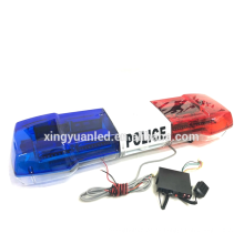 LED utilizado 1.2 m Tamaño completo Techo del coche Top 12V / 24V Estroboscópico impermeable Intermitente Señal de advertencia de emergencia Barra de luces