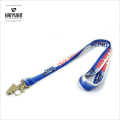 Custom Cheap Promotional Heat Transfer Printing Breakaway Safey Lanyard