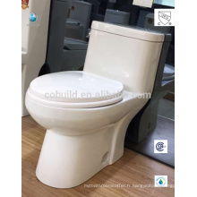 CB-9520 prix concurrentiel UPC bouton-poussoir siphonic CSA style occidental toilettes