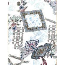 Rayon Challis Print Fabric Women Blouse New Design