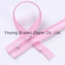 3 # Zipper en nylon de style commun C / E pour textile domestique