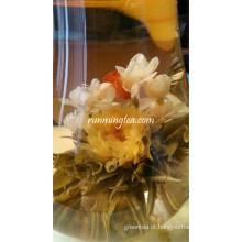 Felicidade Borboleta Dançando Blooming Beautiful Tea Balls
