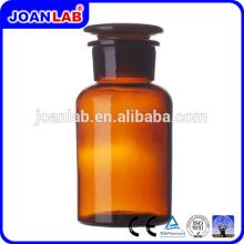 JOAN LAB Botella de Reactivo Químico de Vidrio Ambar