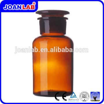 Fabricación de botellas de reactivos de vidrio ambarino de alta calidad de JOAN Laboratory