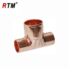5/16 inch coupling tee copper fittings