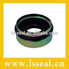 Automobile shaft seal for air conditioner system