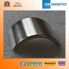 Neodymium Arc Magnets for Brushless DC Motors