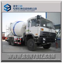 Caminhão do misturador 6x4 do caminhão do misturador concreto de Dongfeng 6cbm