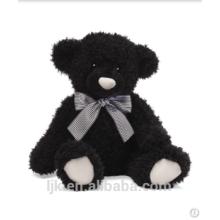 Personalizado peluche juguetes personalizado peluche oso negro juguete