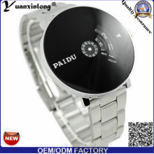 Yxl-373 New Designed Stainless Steel Watch Black Dial Japan Movement Sport Digital Chronograph Mens Watches