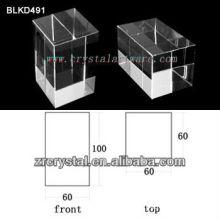 K9 Hochwertige leeren Kristall für 3D Lasergravur